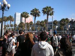 Con Center Outside Crowd