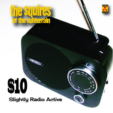 Slightly Radio Active cover for squires site