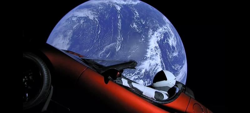Starman live view falcon heavy spacex